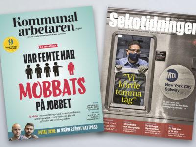 Kommunalarbetaren och Sekotidningen.
