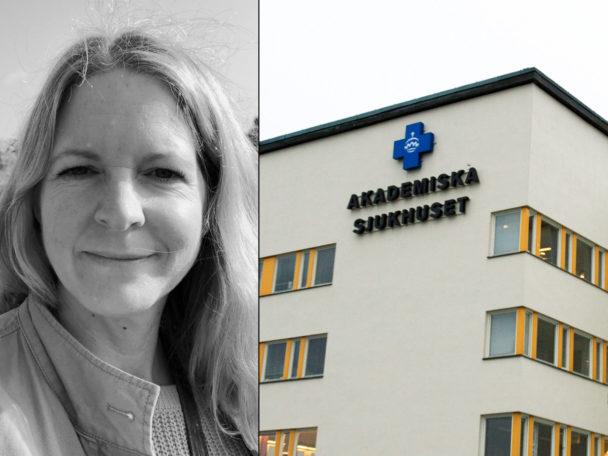 Malin Södergren, undersköterska.