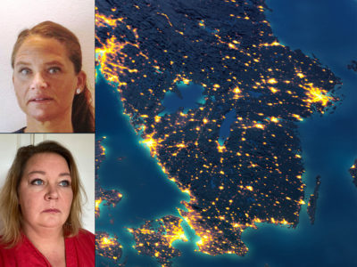 Jenny Cederblad och Petra Hultberg.