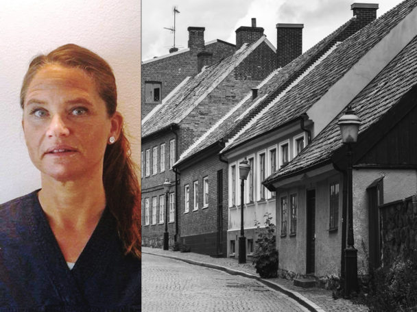 Jenny Cederblad, undersköterska i Lund.