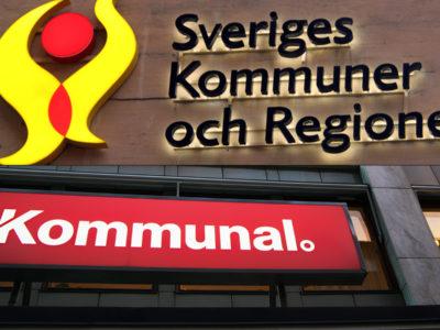 SKR och Kommunal.