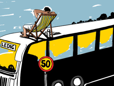 Bussförare är en av de yrkesgrupper som kan få ledigt med lön på 50-årsdagen.