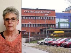 Eva Jansson, Kommunal, och Centralsjukhuset i Karlstad.