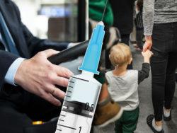 Låt bussförare och barnomsorgspersonal få förtur till vaccin, föreslår LO.