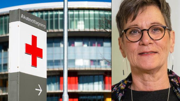 Carina Svensson (S) och Skånes universitetssjukhus.