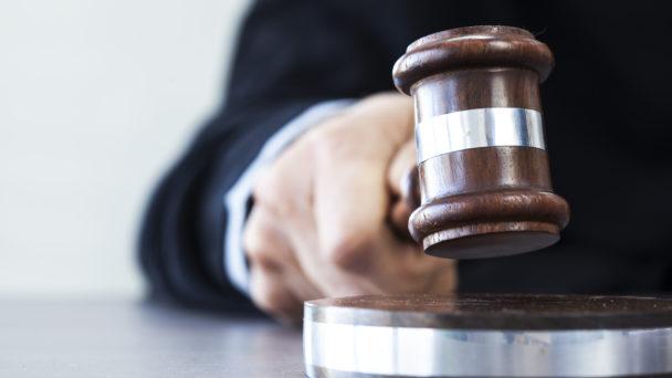 Domstol (genrebild).