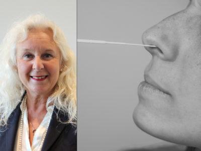 Eva Klang Vänerklint, chef för vård- och omsorgsförvaltningen i Mölndal som infört snabbtester.