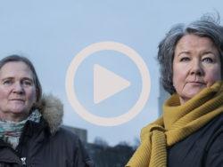 Helena Karlsson och Alice Johansson.