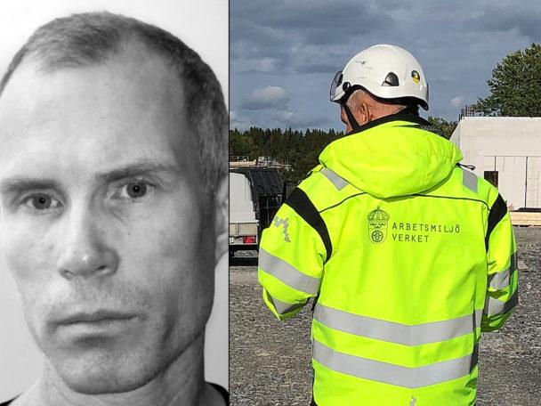 Johan Kanmert, skyddsombud vid Göteborgs spårvägar.