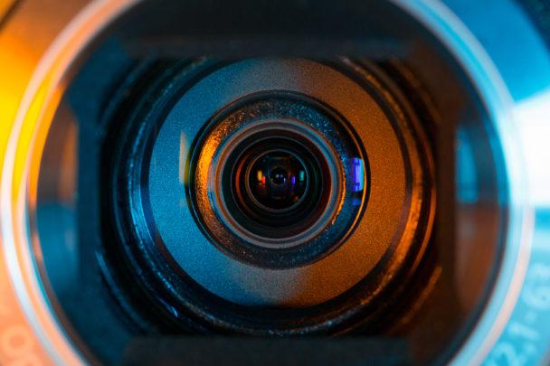 Övervakningskamera (genrebild).
