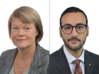 Ulla Andersson och Tony Haddou, Vänsterpartiet.
