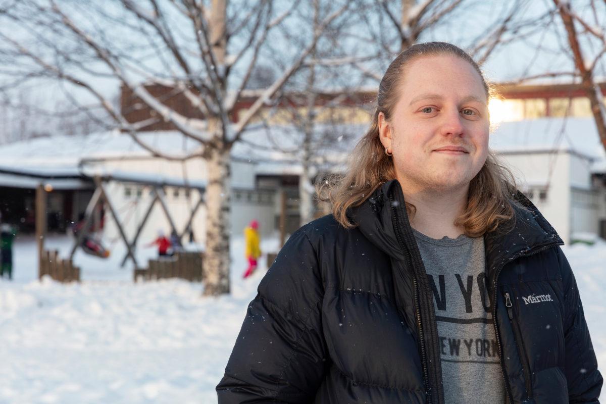Hugo Larsson, badmästare.