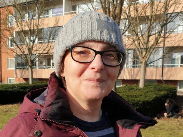Claudia Schuccia, undersköterska.