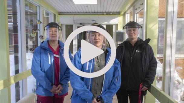 Demensvård på Sätra vård- och omsorgsboende.