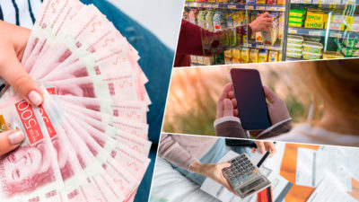 Lönerna ökar – men det gör utgifterna för mat och telefon också.