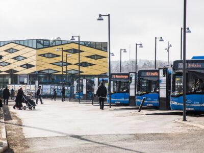 Bussar i Göteborg.