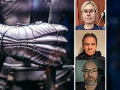 Therése Mechlenburg, Joakim Ivansson och Leif Rydell.