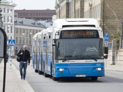 Buss i Göteborg.