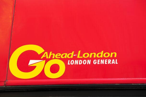 Buss från Go Ahead.