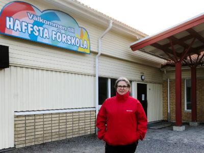 Ing-Marie Arnkvist, barnskötare och skyddsombud.