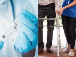 Även ovaccinerade kan få sommarjobb i äldreomsorgen.