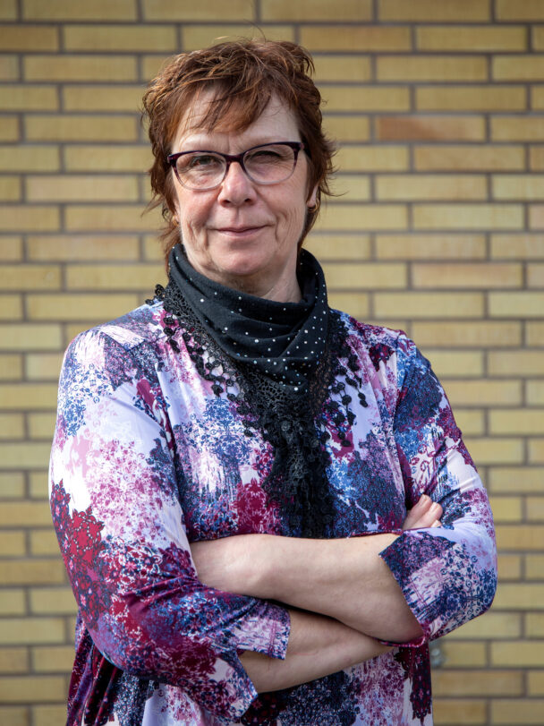 Susanne Svensson, vårdbiträde.