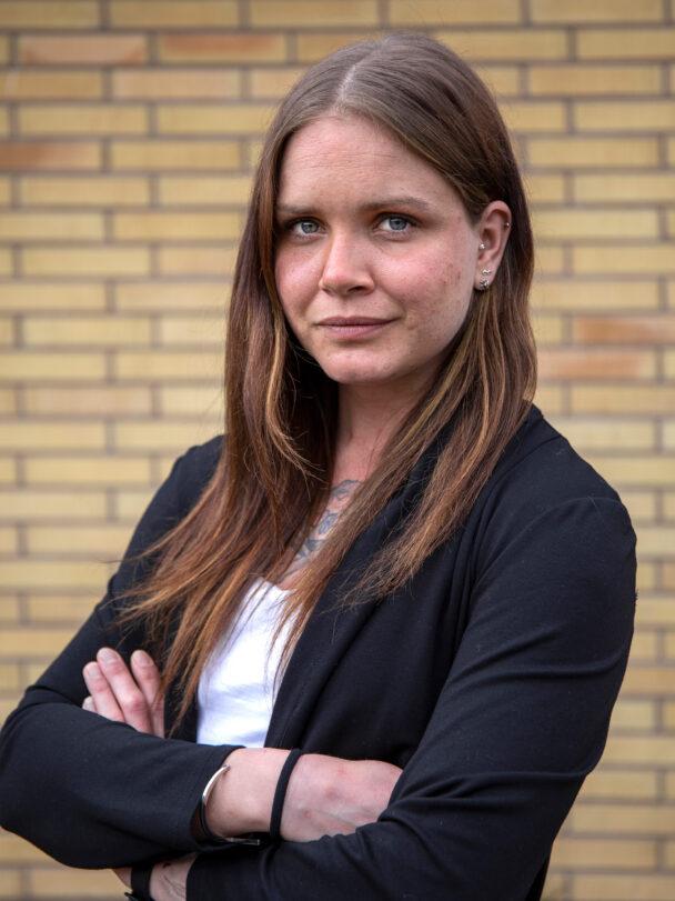 Julia Nilsson, undersköterska.