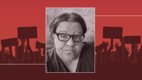 Maria Björkman, undersköterska och arbetsplatsombud.