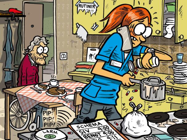 Arbetssituation i hemtjänsten (beskuren).