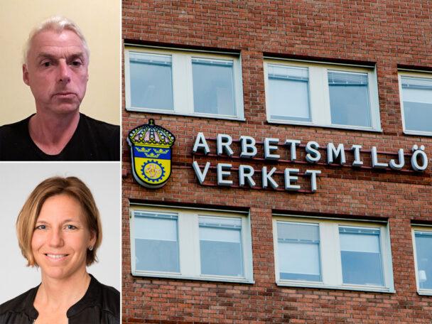 Fredrik Haux och Ulrika Scholander, Arbetsmiljöverket.