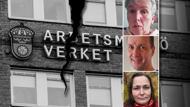 Åsa Wuopio, Heiko Stone och Helene Strandberg, skyddsombud.