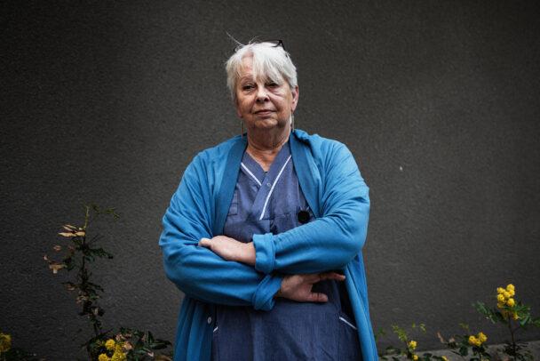 Eva Ottosson, skötare och skyddsombud.