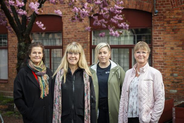Ann-Kristin Göransson, Susanne Skoog, Jenny Pettersson och Jenny Ståhlkrantz har startat en protestlista mot planerna på nya jourregler.