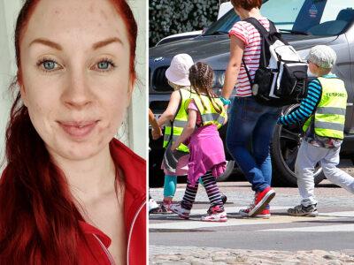 Jenny Larsson, barnskötare.