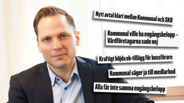 Johan Ingelskog, Kommunal. (Rubrikerna är hämtade från ka.se)