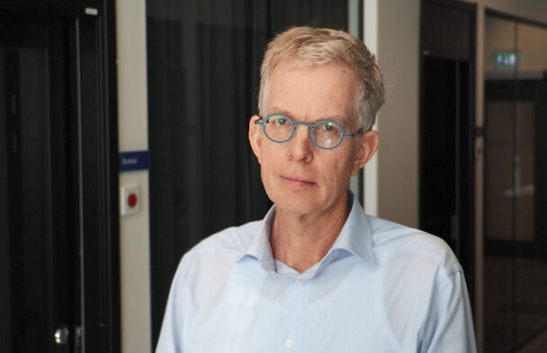 Anders Johansson, vårdhygienöverläkare.