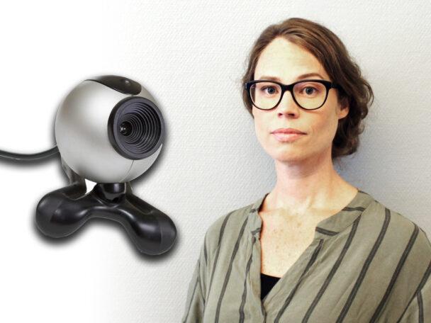 Jenny Bård, jurist vid IMY. (Bilden är ett montage.)
