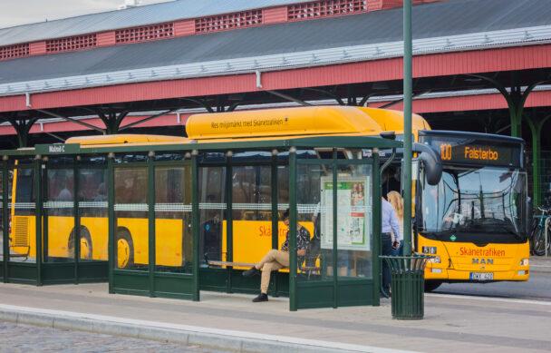 Buss i Malmö.