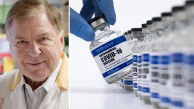 Jan Holmgren, professor emeritus i medicinsk mikrobiologi.