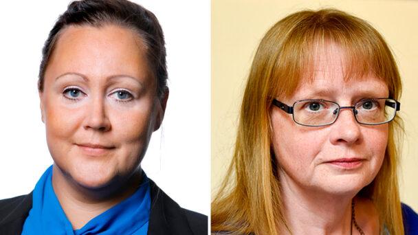 Christine Marttila och Carina Lenngren