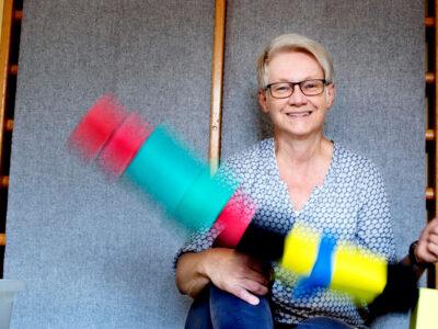 Monica Johansson, barnskötare i Östra Göinge.