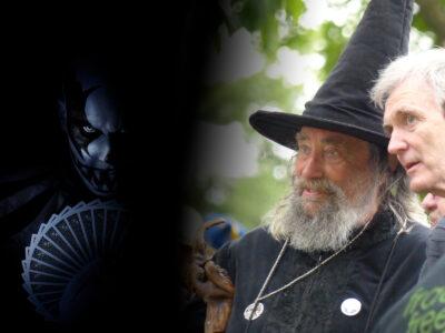 Zombie på Liseberg och trollkarlen i Christchurch.
