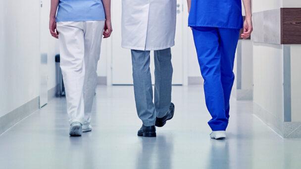 Sjukvårdspersonal (genrebild).
